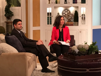 Dr. Omar Punjabi on Charlotte Today to discuss diabetic retinopathy