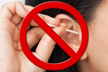 Don't clean your ears with Q-tips.