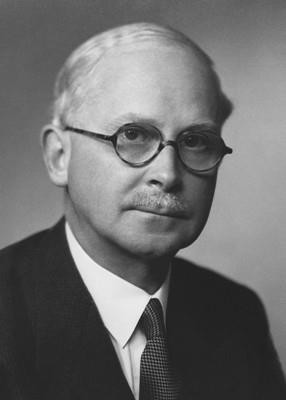 Harold Ridley, MD, the inventor of intraocular lenses.