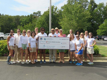 CEENTAcares presents a $25,000 check to the American Diabetes Association