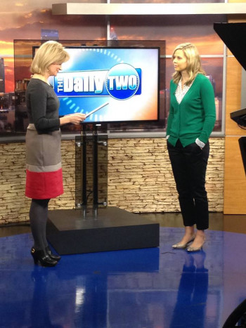 Dr. Leighanne Dorton discusses seasonal allergies on WSOC-TV's Daily Two.