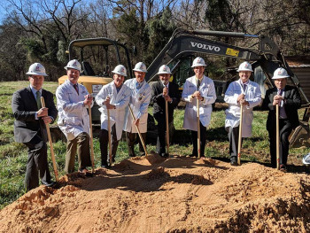 The CEENTA Fort Mill groundbreaking