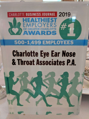 The award for healthiest employer