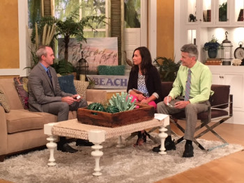 Dr. Ernest Bhend on WCNC's Charlotte Today