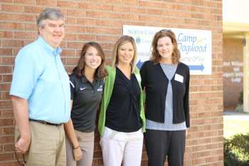 Dr. Schotthoefer and other presenters at Juvenile Arthritis Family Day