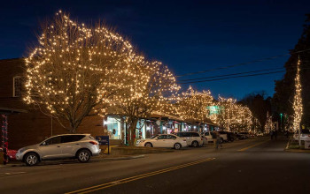 Christmas lights in McAdenville, NC