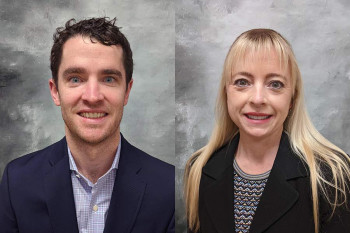 Dr. Brendan O'Connell and Dr. Lisa Collea