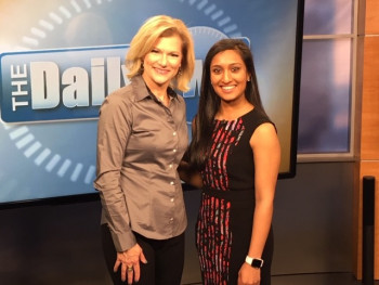 Payal Patel, MD, and the host of the Daily Two.