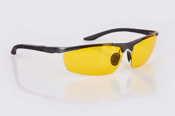 Yellow-tinted glasses