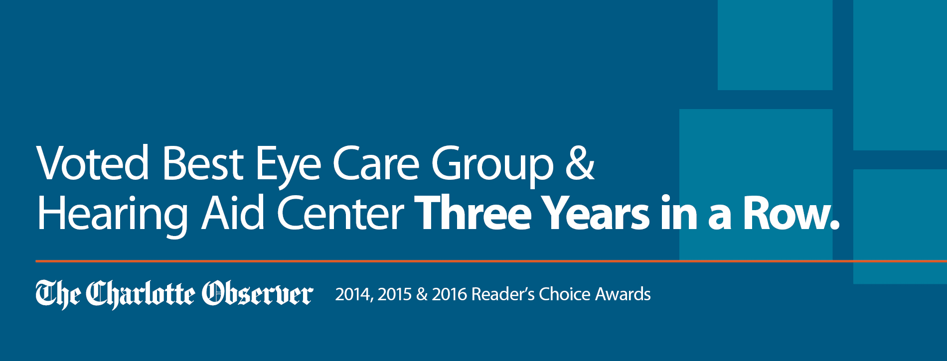 Readers Choice Award for Eye Care Group & Hearing Aid Center