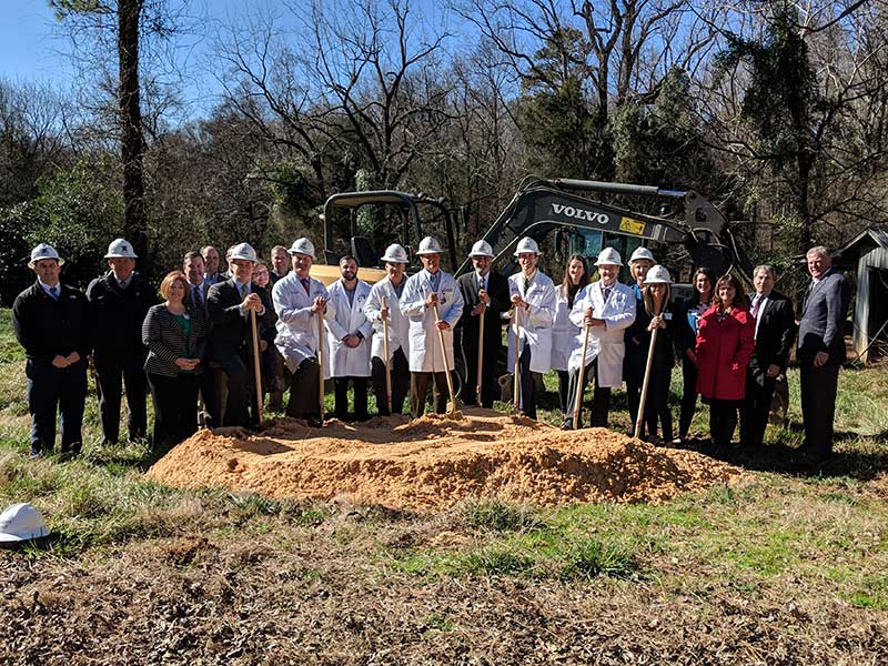 The Fort Mill groundbreaking