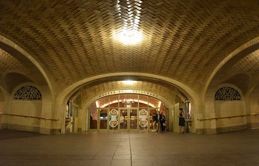 The Grand Central Terminal Whispering Gallery