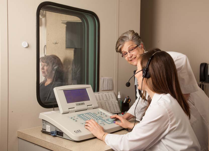 Charlotte Hearing Test, Hearing test at CEENTA